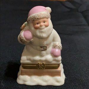 Lenox Santa Treasure Box